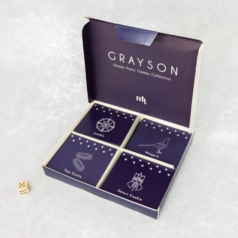 Dinner Party Game Grayson