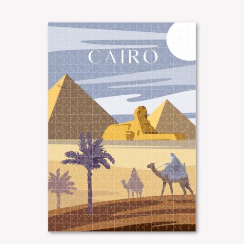 Cairo-Art-Puzzle-Cityscape