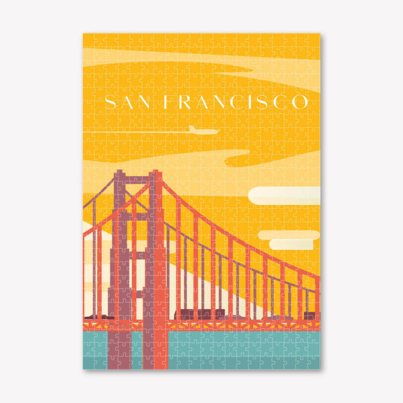 San Fransisco-Art-Puzzle-Cityscape