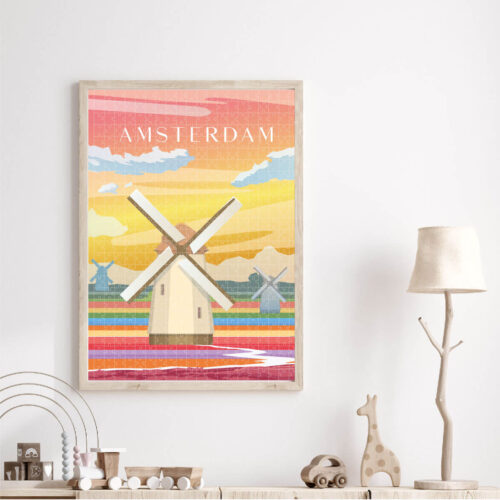 Amsterdam Puzzle worth Framing