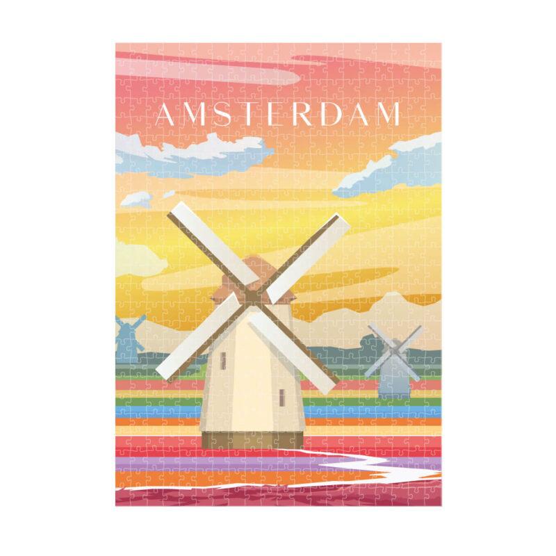 puzzles Amsterdam Art