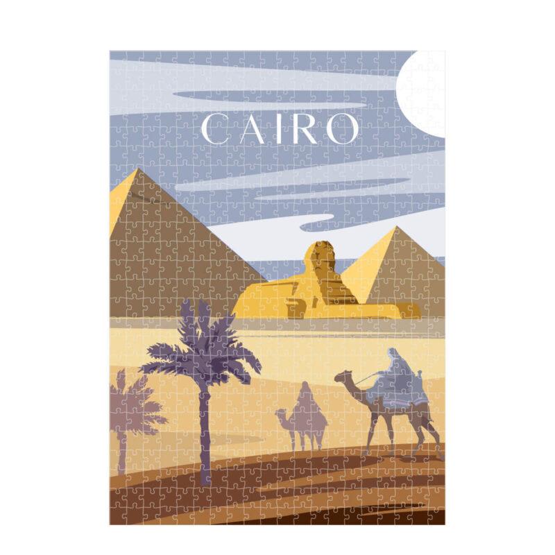 puzzles Cairo Art Cityscape